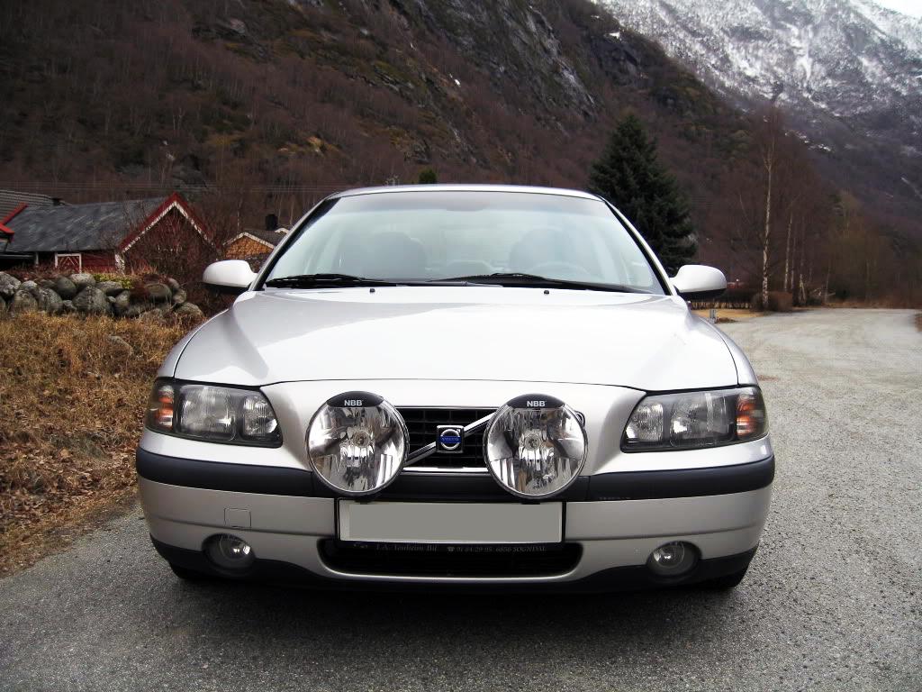 Extraljus till Volvo S80